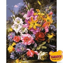 Шикарный букет роз и лилий, 40*50 см Q2149