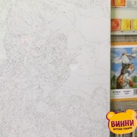 Купить картину по номерам Mariposa Кот с ромашкой, 40*50 см Q2076