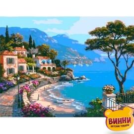 Купить картину по номерам Babylon Premium Райский уголок (в раме), 40*50 см, NB003