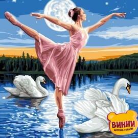 Купить картину по номерам Babylon Лебединое озеро, 30*40 см VK008