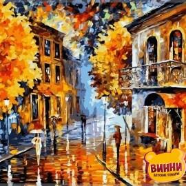 Купить картину по номерам Babylon Осенний дождь, 40*50 см VP074