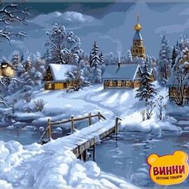 Купить картину по номерам Babylon Зимняя сказка, 40*50 см VP169
