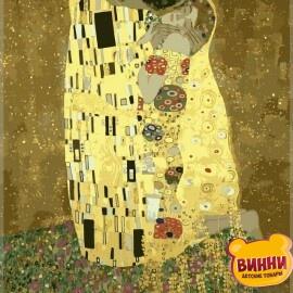 Купить картину по номерам Babylon Золотой поцелуй, 40*50 см VP200