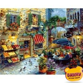 Купить картину по номерам Babylon Летнее кафе, 40*50 см VP301