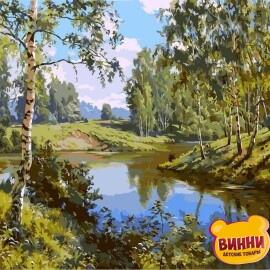 Купить картину по номерам Babylon Тихая речка, 40*50 см VP401