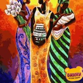 Купить картину по номерам Babylon Африканские мотивы, 40*50 см VP415