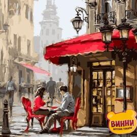 Купить картину по номерам Babylon Лондонское кафе, 40*50 см VP442