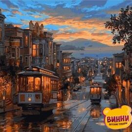Купить картину по номерам Babylon Последний трамвай, 40*50 см VP487