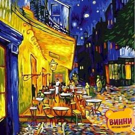 Купить картину по номерам Babylon Ночная терраса кафе, 40*50 см VP504