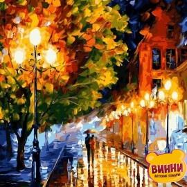 Купить картину по номерам Babylon Прогулка вечерними улочками, 40*50 см VP526