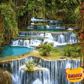Купить картину по номерам Babylon Тропический водопад, 40*50 см VP912