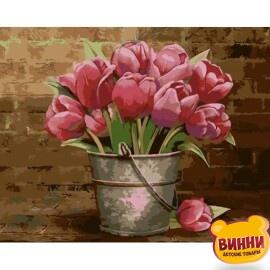 Купить картину по номерам ArtStory AS0009 Тюльпаны