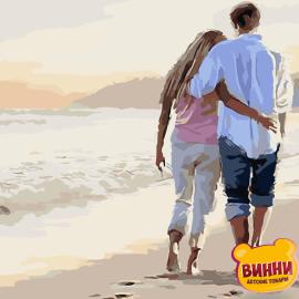 Купить картину по номерам ТМ ArtStory AS0050 Прогулка по пляжу