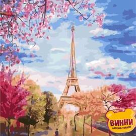 Купить картину по номерам ArtStory AS0137 Весна в Париже