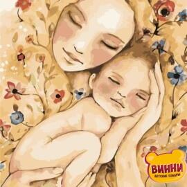 Купить картину по номерам ArtStory AS0450 Счастье матери