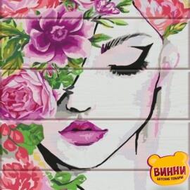 Купить роспись по номерам на дереве ArtStory Флора 30*40 см, ASW037