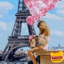 Купить картину по номерам Babylon Над Парижем, 40*50 см VP1236