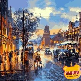Купить картину по номерам Babylon Улочки Лондона, 40*50 см VP1241