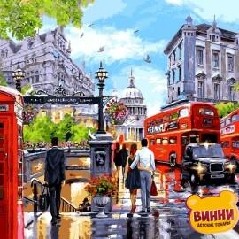 Купить картину по номерам Babylon Весна в Лондоне, 40*50 см VP1242