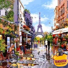 Купить картину по номерам Babylon Цветущий Париж, 40*50 см VP1243