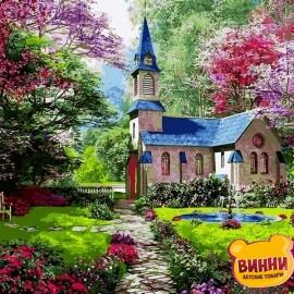 Купить картину по номерам Babylon Цветущий сад, 50*65 см VPS1153