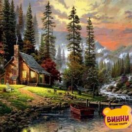 Купить картину по номерам Babylon Охотничий домик, 50*65 см VPS1261