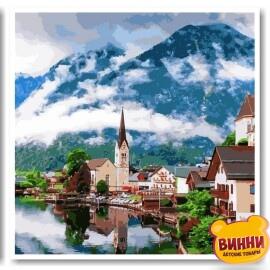 Купить триптих, картину по номерам Babylon Летняя Австрия, VPT050