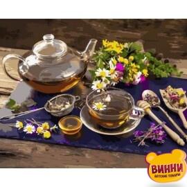 Купить картину по номерам Babylon Чай с цветочным медом, 40*50 см VP1136