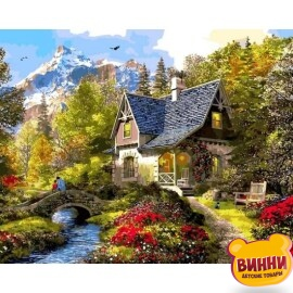 Купить картину по номерам Babylon Вечер в Альпах, 40*50 см VP1154