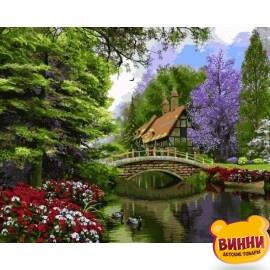 Купить картину по номерам Babylon Тихий уголок , 40*50 см VP1158