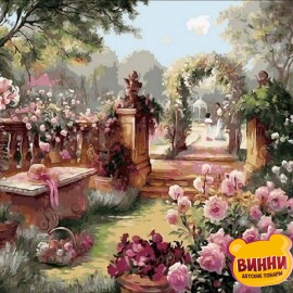 Купить картину по номерам Mariposa Райский сад, 40*50 см Q1442