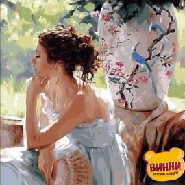 Купить картину по номерам Mariposa Мечтательница, 40*50 см Q1443