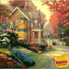Купить картину по номерам Babylon Осенние краски, 40*50 см VP154
