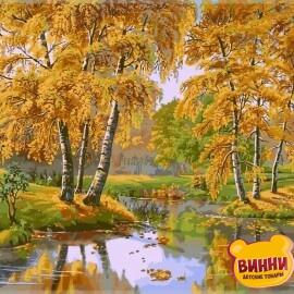 Купить картину по номерам Babylon Осенний день, 40*50 см VP163
