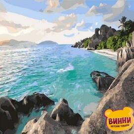 Купить картину по номерам Mariposa Карибский берег, 40*50 см Q1897