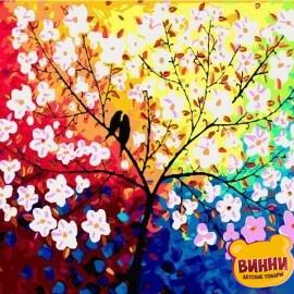 Купить картину по номерам Mariposa Дерево любви, 40*50 см Q2092