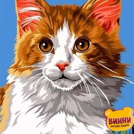 Купить картину по номерам Babylon Домашний кот, 30*40 см VK238