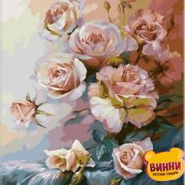 Купить картину по номерам Babylon Розовое утро, 40*50 см VP325