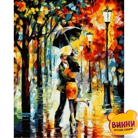 Купить картину по номерам Babylon Танец под дождем, 40*50 см VP340