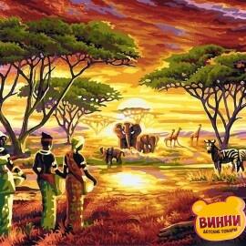 Купить картину по номерам Babylon Африка, 40*50 см VP417
