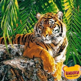 Купить картину по номерам Babylon Суматранская тигрица, 40*50 см VP461