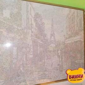 Купить картину по номерам Babylon Premium Цветущий Париж (в раме), 40*50 см, NB1243
