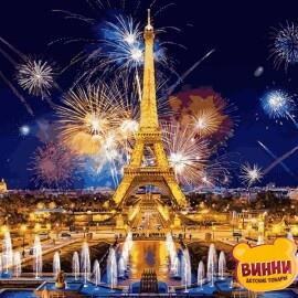 Купить картину по номерам Babylon Салют над Парижем, 40*50 см VP938