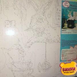 Купить картину по номерам ArtStory 40*40 см AS0323 Сказочный кролик