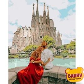 Купить картину по номерам Идейка Романтическая Испания, 40*50 см KHО4689