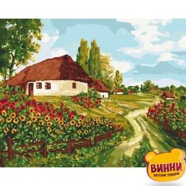 Купить картину по номерам Идейка, Украинскими тропами, 40*50 см КНО2277