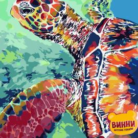 Купить картину по номерам ArtStory AS0076 Черепаха