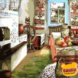 Купить картину по номерам ArtStory AS0107 Украинский уют