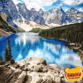 Купить картину по номерам ArtStory AS0150 Удивительные горы