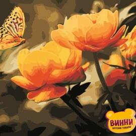 Купить картину по номерам ArtStory AS0351 Желтые цветы